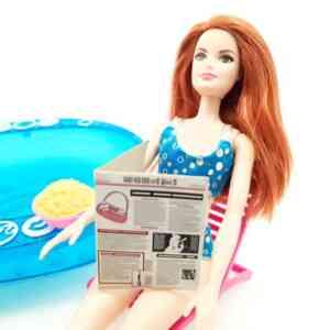 Lutka Barbie set bazen sa roštiljem (7)