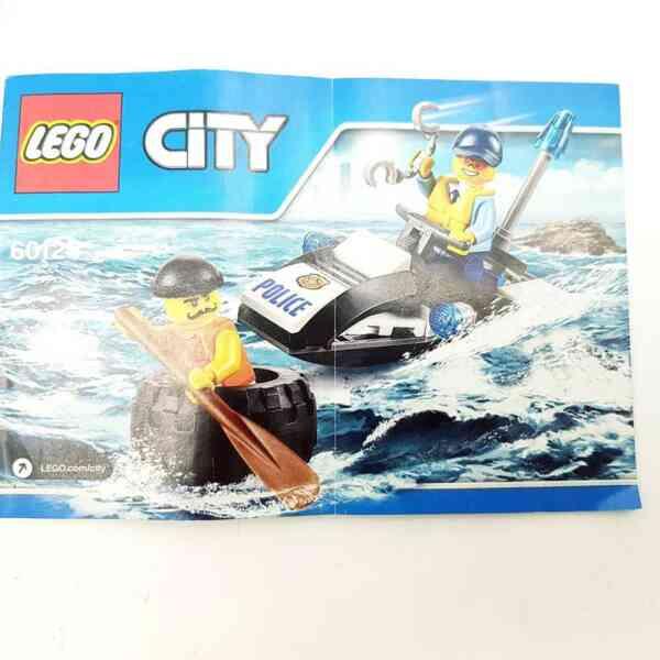Lego City 6000 policajac na ski jetu i lopov u gumi (3)