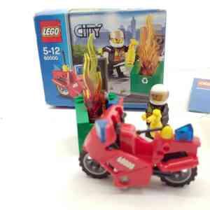 Lego City 6000 vatrogasac na motoru (1)