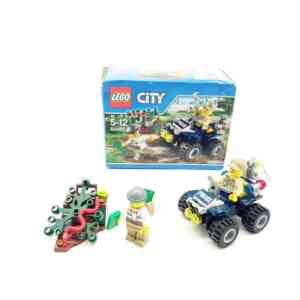 Lego City 60065 policajac na kvadu i lopov (1)