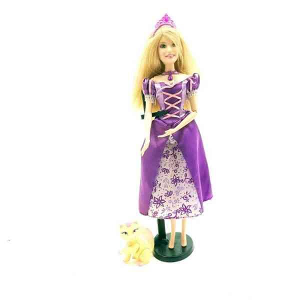 Lutka Barbie princeza sa mackom (1)