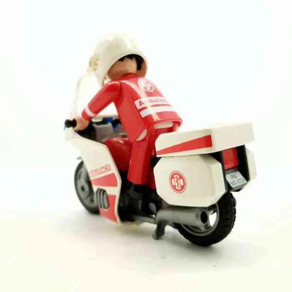Playmobil Motociklista bolničar na motoru (4)