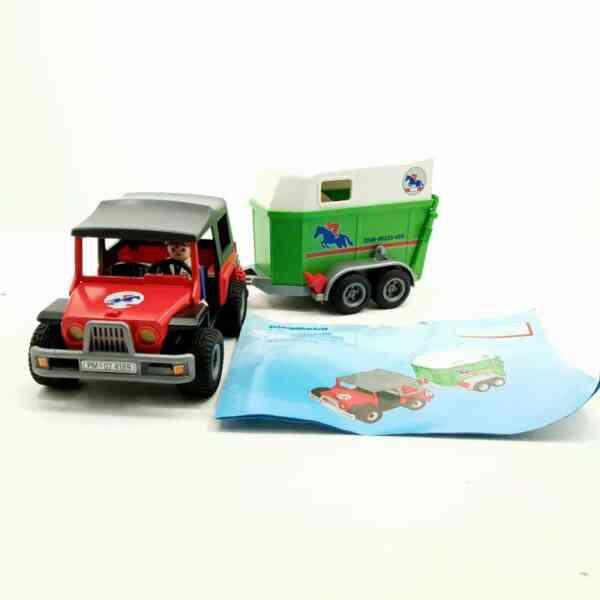 Playmobil džip i prikolica za konje (1)