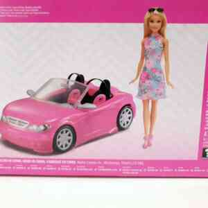 Barbie set Barbie lutka sa autom NOVO (4)