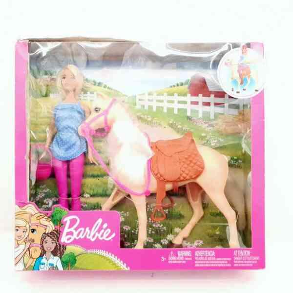 Barbie set Barbie lutka sa konjem NOVO (1)