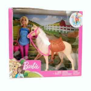 Barbie set Barbie lutka sa konjem NOVO (2)