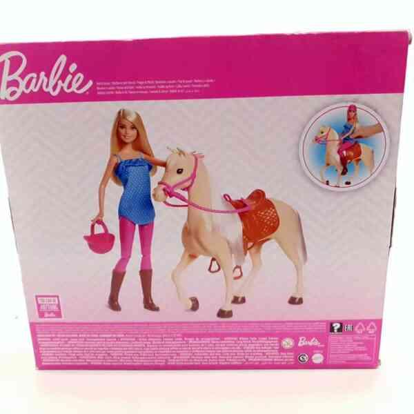 Barbie set Barbie lutka sa konjem NOVO (3)
