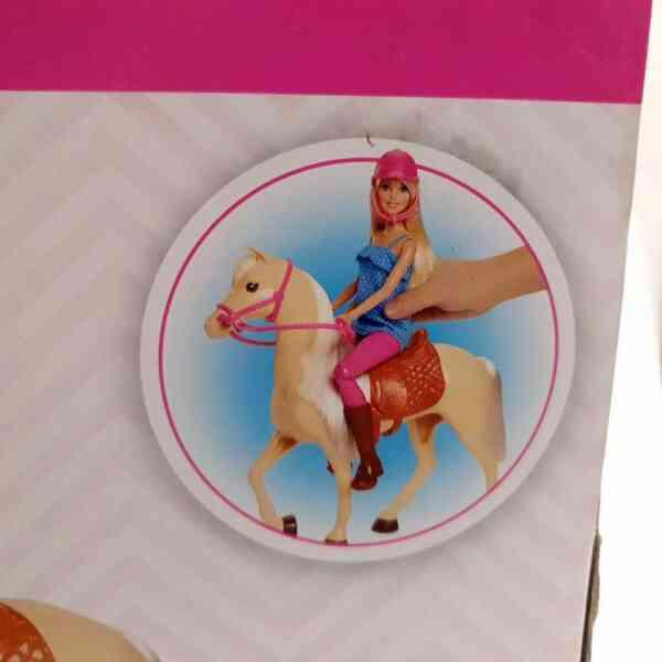 Barbie set Barbie lutka sa konjem NOVO (4)