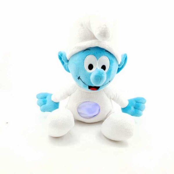 Plišana igračka Strumf za bebe svetli i svira (2)