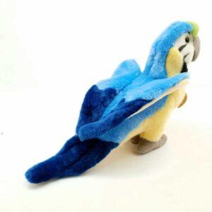 Plišana igračka papagaj Makao (1)
