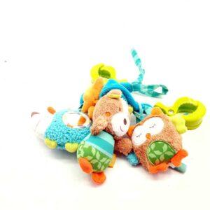 Zvećka za kolica za bebe sa 3 igračke (2)