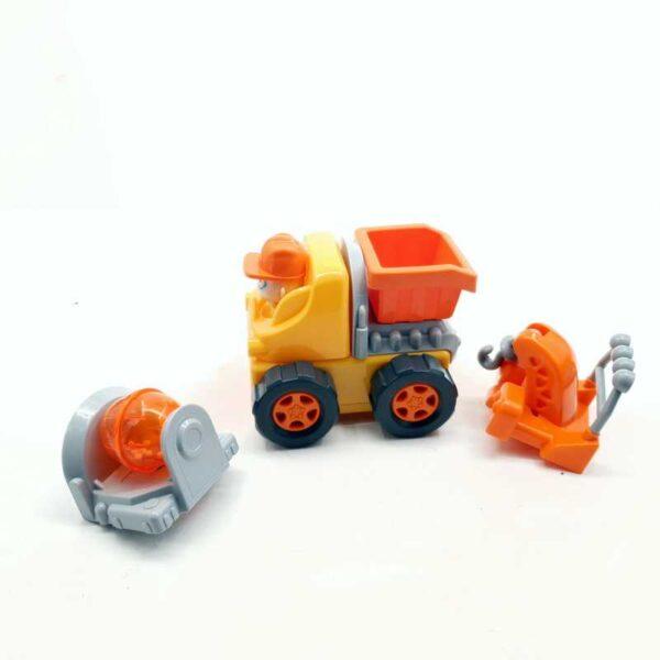 Kamion na baterije Silvreit sa izmenjivim delovima (3)