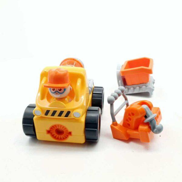 Kamion na baterije Silvreit sa izmenjivim delovima (5)