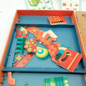 Kreativna igračka Zakucaj svoje čudovište (1)