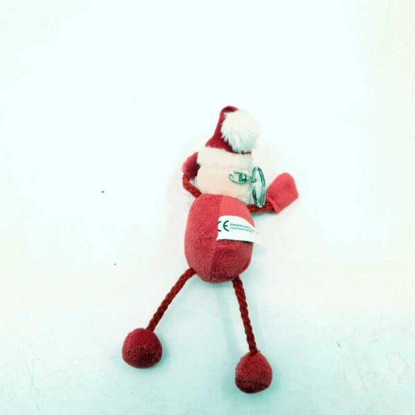 Plišana igračka Deda Mraz privezak (1)