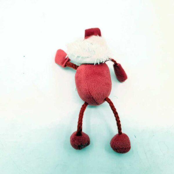 Plišana igračka Deda Mraz privezak (2)