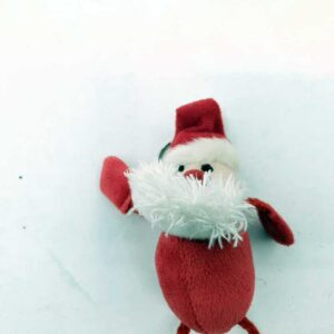Plišana igračka Deda Mraz privezak (3)
