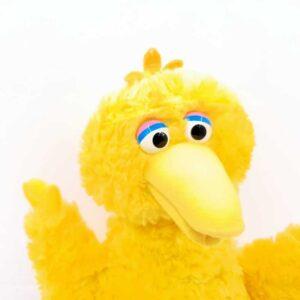 Plišana igračka Velika Žuta ptica Ulica Sezam (3)