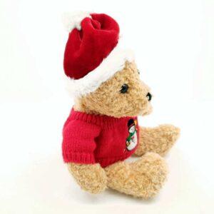 Plišana igračka novogodišnji medved (1)