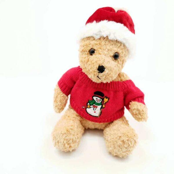 Plišana igračka novogodišnji medved (2)