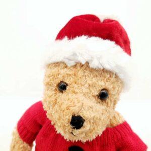 Plišana igračka novogodišnji medved (3)