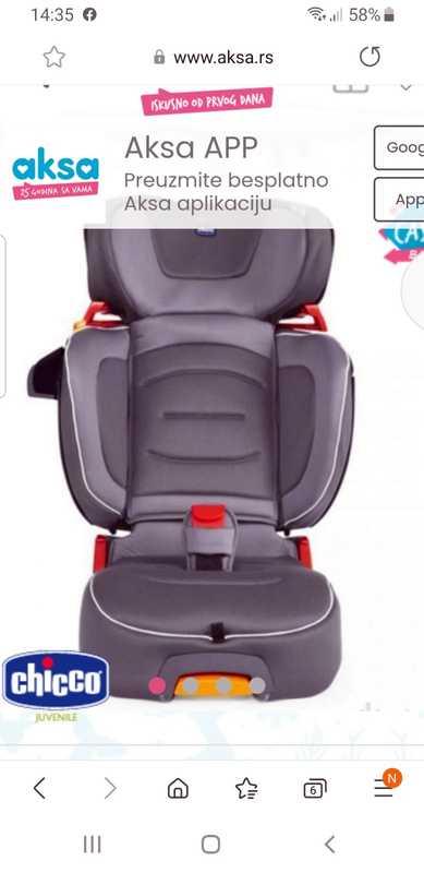 Auto sedište za decu Chicco (7)