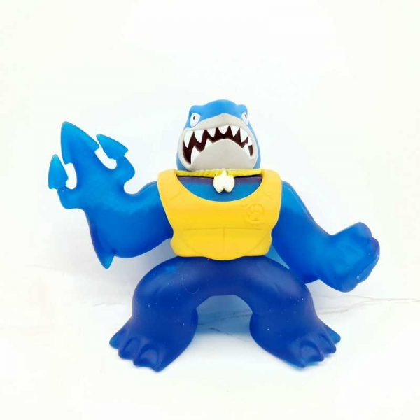 Gumena igraćka na razvlačenje 15 cm Heroes of Goo Jit Zu - Gooey Shark (2)
