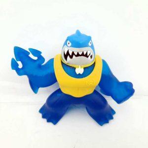 Gumena igraćka na razvlačenje 15 cm Heroes of Goo Jit Zu - Gooey Shark (3)