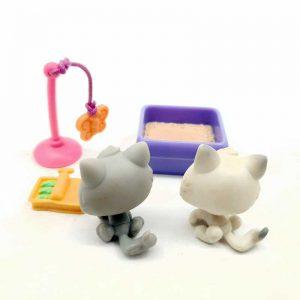 LPS Littlest Pet Shop 2004 2 mačke (1)