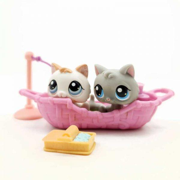 LPS Littlest Pet Shop 2005 2 mačke (2)