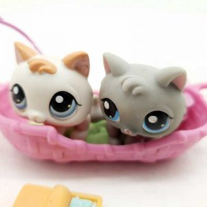 LPS Littlest Pet Shop 2005 2 mačke (3)