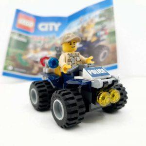 Lego set policajac na kvadu i lopov (1)