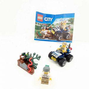 Lego set policajac na kvadu i lopov (2)