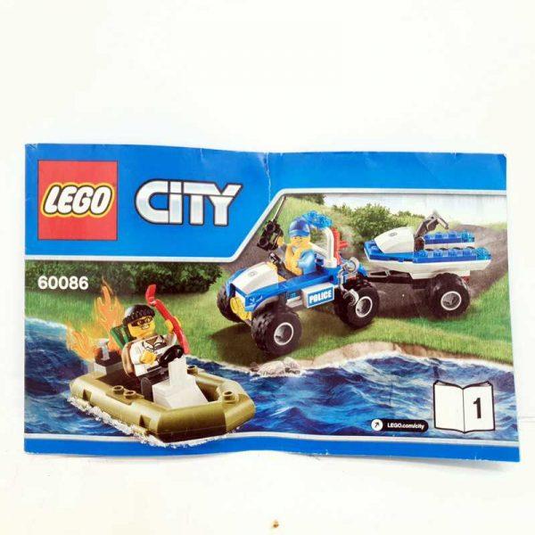 Lego set policajac na kvadu i lopov u čamcu (3)