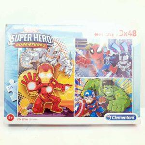 Edukativna igračka slagalica Marvel Super Hero Clementoni 3 kom NOVO (2)