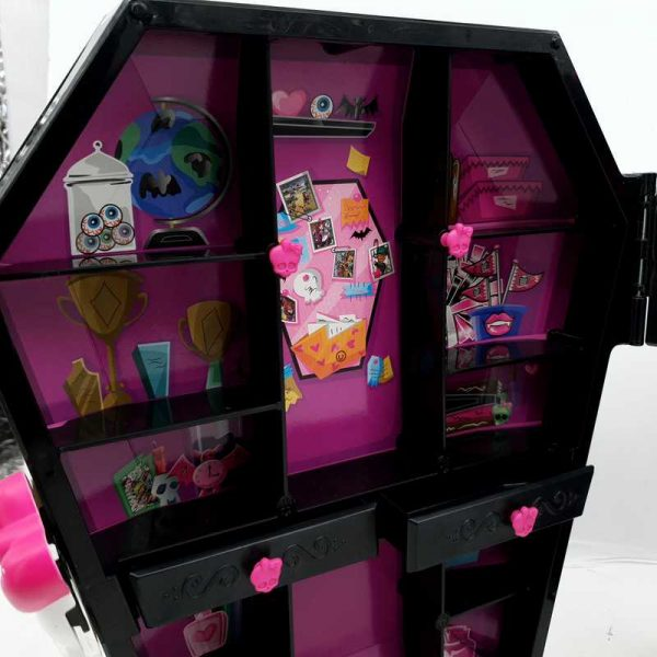 Nameštaj za lutke Ormar Monster High (6)