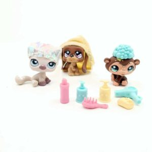 LPS Littlest Pet Shop 2007 frizerski set (1)