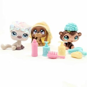 LPS Littlest Pet Shop 2007 frizerski set (2)