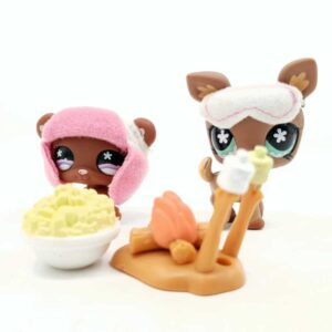 LPS Littlest Pet Shop 2007 kamperski set (1)