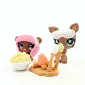 LPS Littlest Pet Shop 2007 kamperski set (2)
