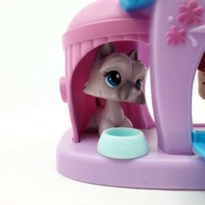 LPS Littlest Pet Shop 3 psa u kućici 2007 (5)