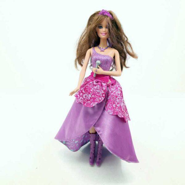 Lutka Barbie pevačica peva na nemačkom (2)