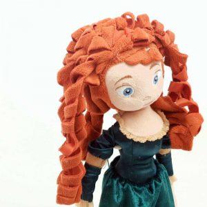 Plišana igračka princeza hrabra Merida Disney (1)