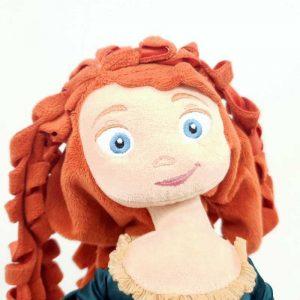 Plišana igračka princeza hrabra Merida Disney (3)