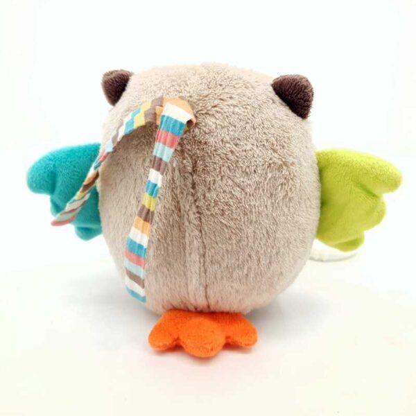 Plišana igračka sova muzička uspavanka na potez (1)