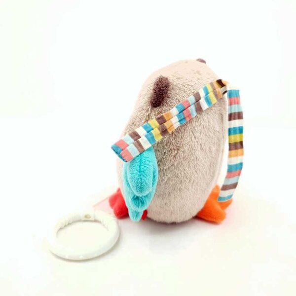 Plišana igračka sova muzička uspavanka na potez (3)