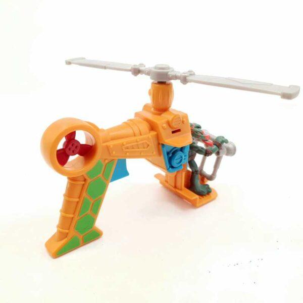 TMNT nindža kornjače helikopter pištolj (1)