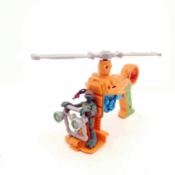 TMNT nindža kornjače helikopter pištolj (2)