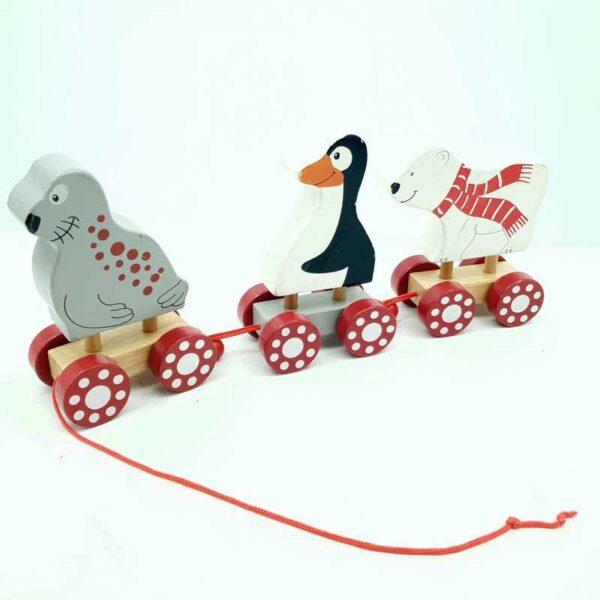 Drveni voz pingvin fokia i beli medved (2)