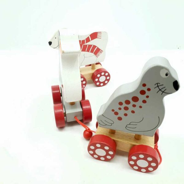 Drveni voz pingvin fokia i beli medved (3)